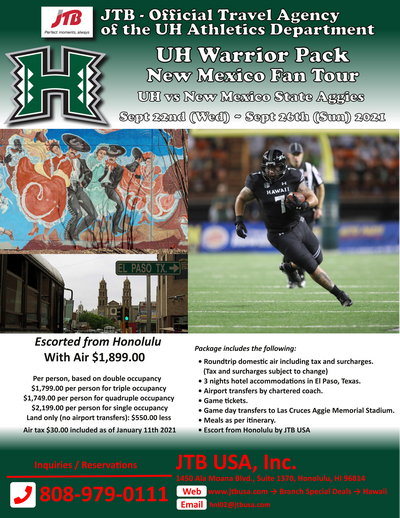UH Warrior Pack New Mexico Fan Package<br><br>