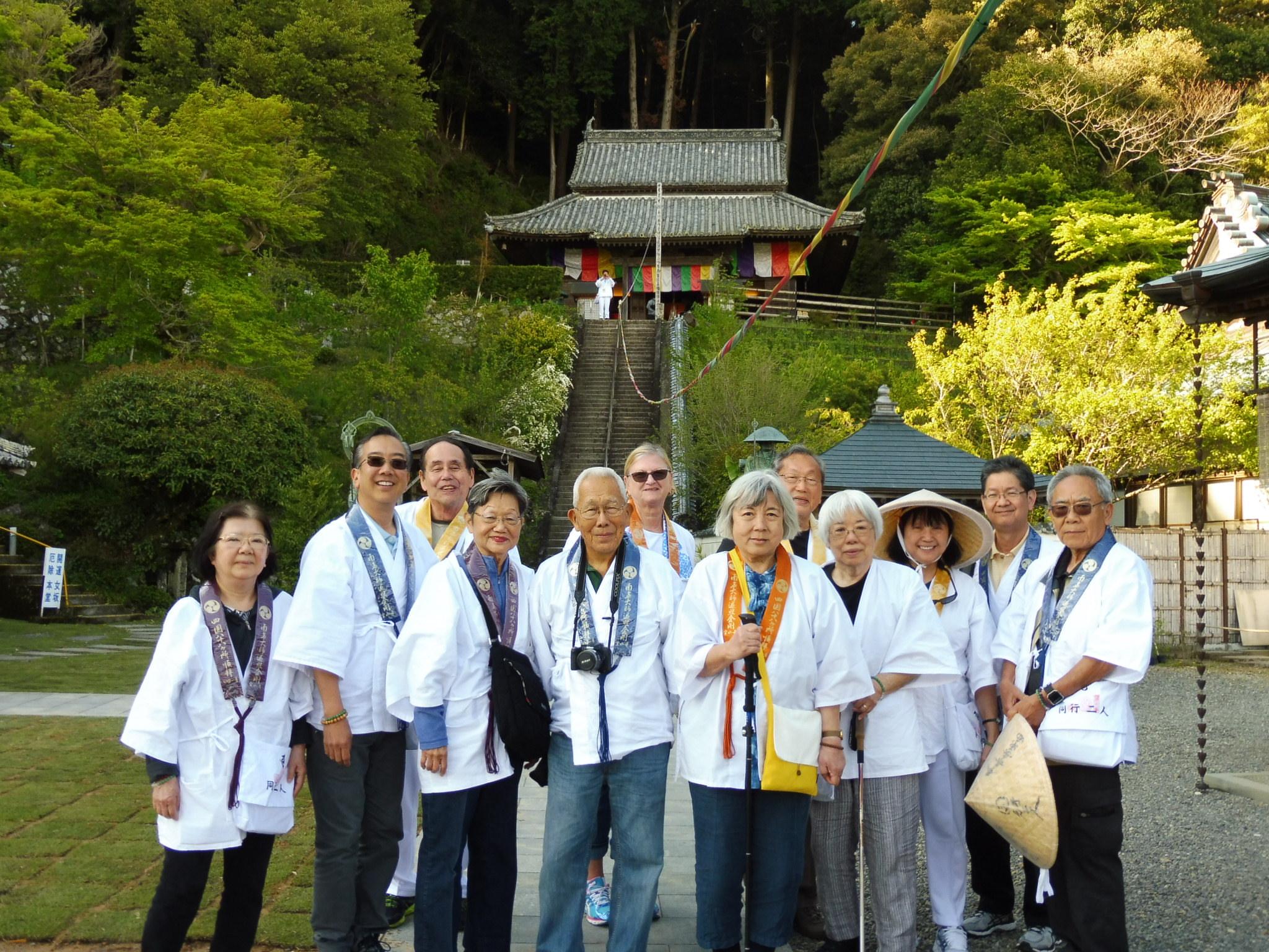 Shikoku OHENRO pilgrimage vol. 2  Visiting temple No 33 to No 54 on vol. 2 tour, Including 3 Onsen   (Kochi, Matsuyamna, Dogo Onsen, Imabari) October 30 (Tue) ~ November 08 (Thu), 2018