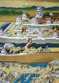 OPENING CEREMONY OF EDO CASTLE