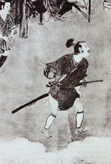 "Tyasen-mage or "" tea-whisk "" style of early Edo period"
