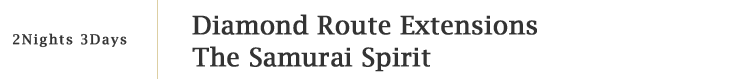 Diamond Route Extensions The Samurai Spirit