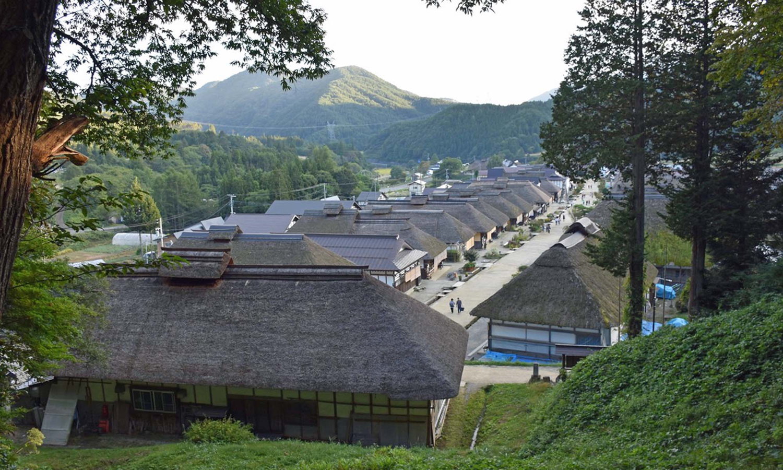 Ouchijuku Fukushima